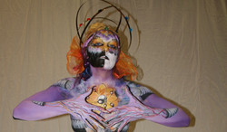 body painting competition