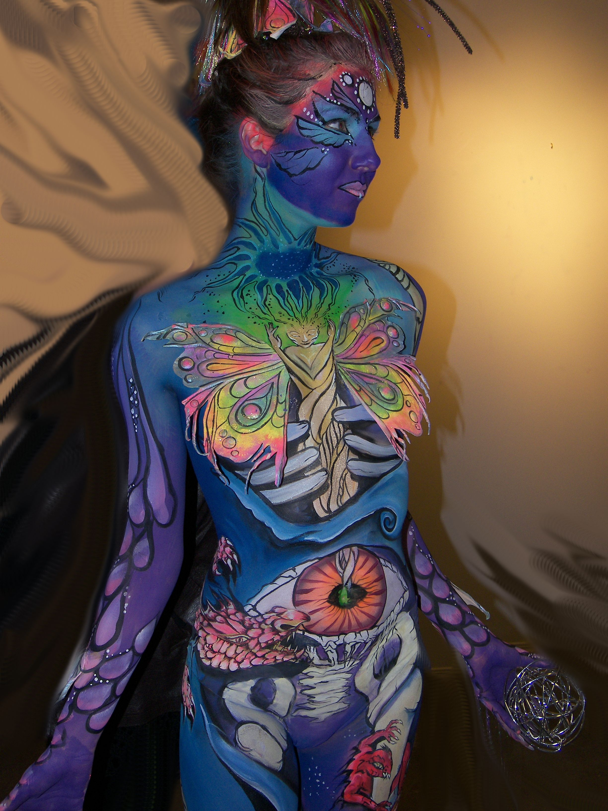 body painting competition Calgary