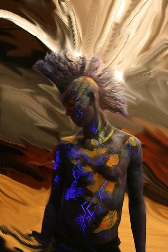 body painting by Yvonne Boyd