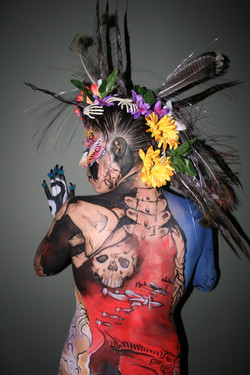 body painting competition nanimo
