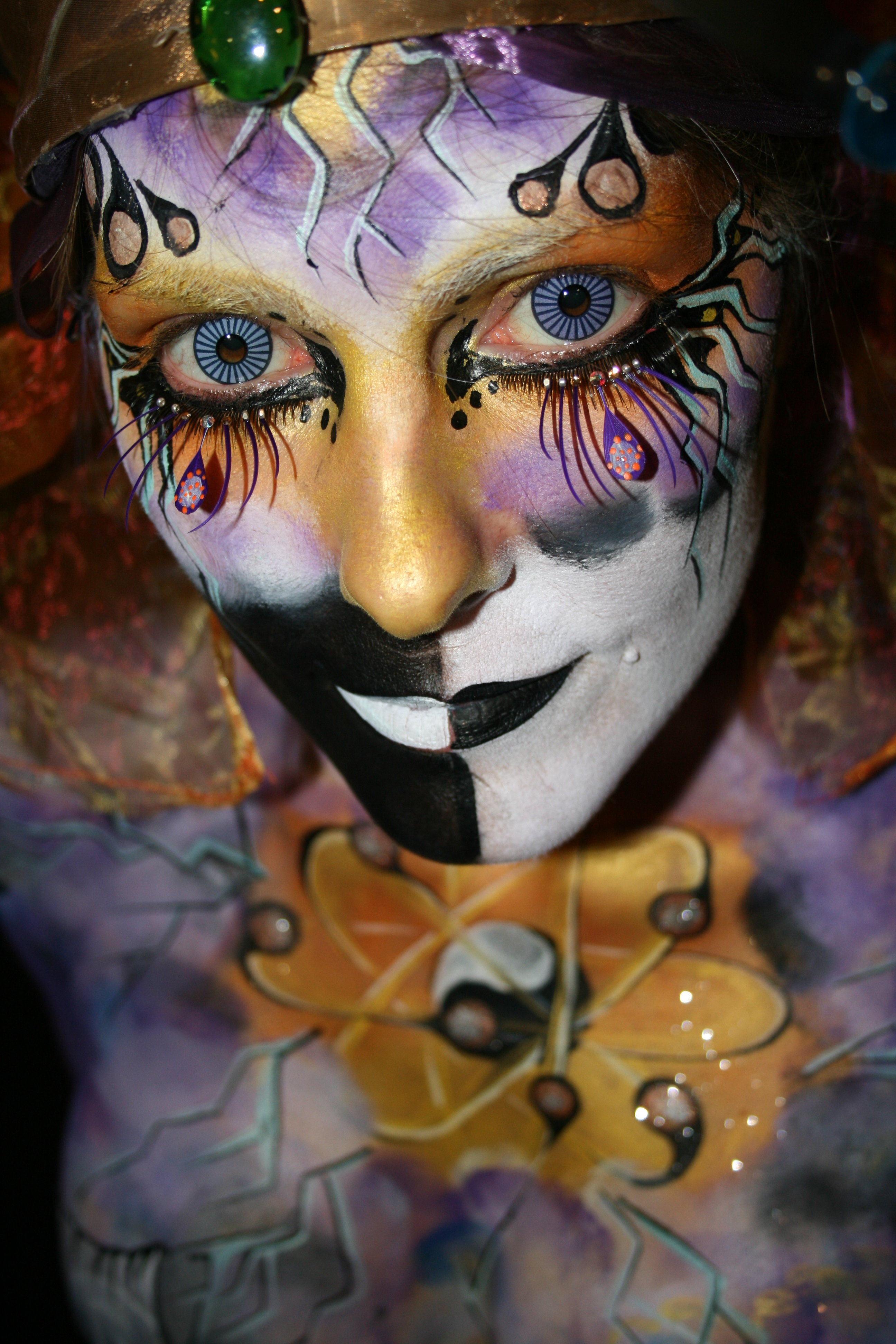 body painting competition dallas