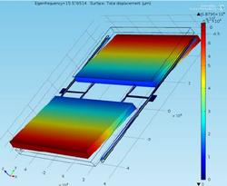 Comsol MEMS modeling