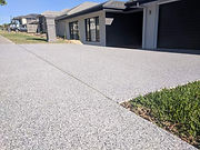 Drive ways and garage concrete floors