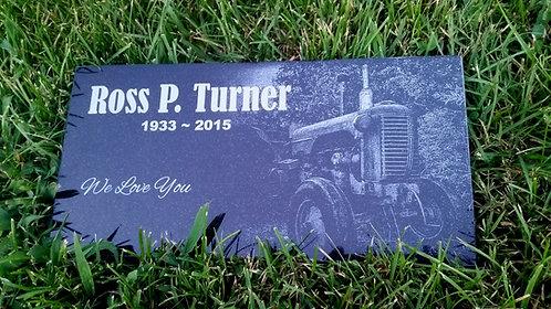 Human Tractor Stone 6x12 Black Granite stone
