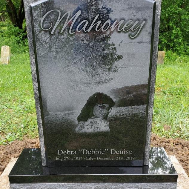 Mahoney upright stone