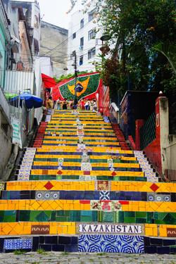 Escadaria Selarón,Rio