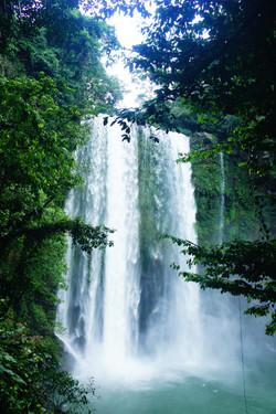 Palenque waterfalls