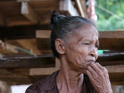 grand mere au Laos