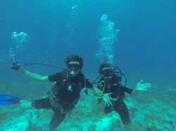 diving in isla mujeres