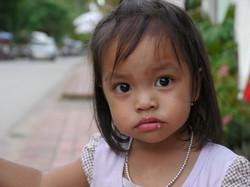 petite fille au Laos