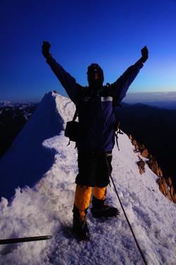 Huyana Potosi summit,Bolivia