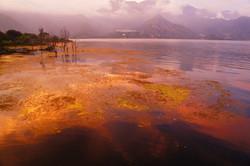 sunset,Lac Atitlan,Guatemala