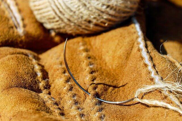 Le cuir dans l'industrie textile