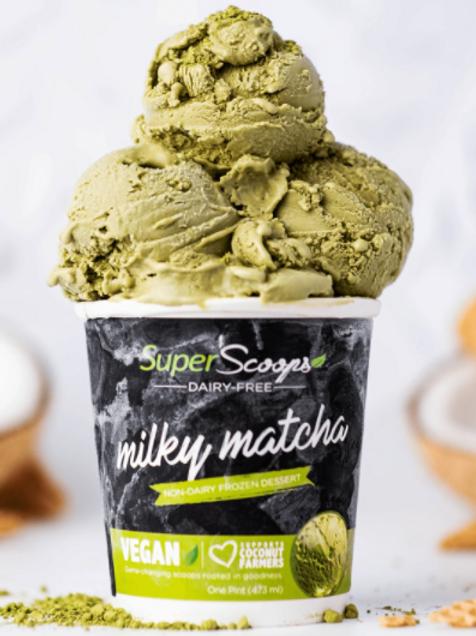 Milky Matcha Vegan Ice Cream Pint
