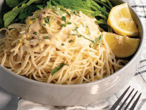 Lemon Yogurt Pasta Sauce