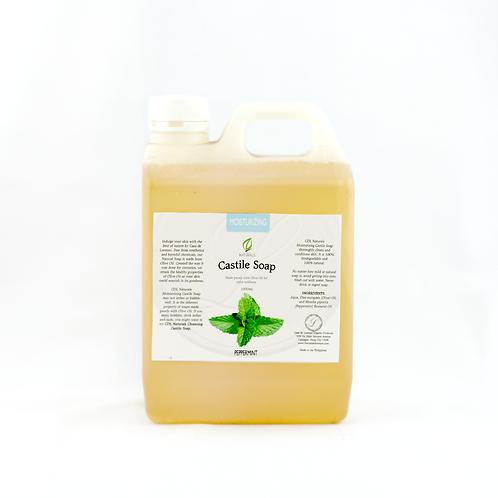 Olive Peppermint Moiturizing Castile Soap 1L