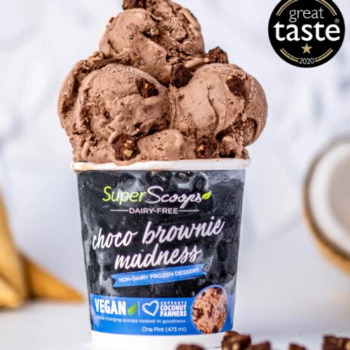 Choco Brownie Madness Vegan Ice Cream Pint