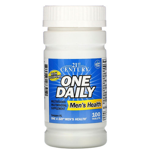 21st Century One Daily Men's Health 100 Tablets