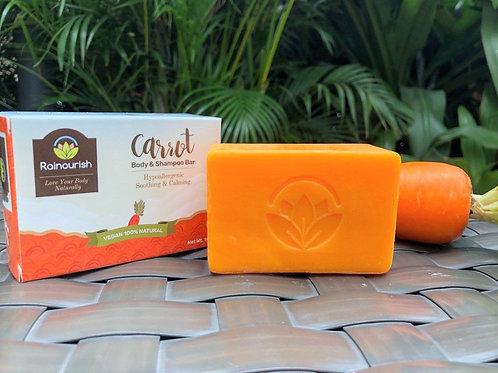 Carrot  Body & Shampoo Bar 145g
