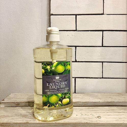 Green Apple  Laundry Liquid Soap  1L Pump