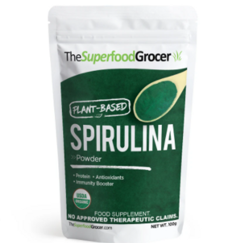 Spirulina Powder 1/2 lb (227g)
