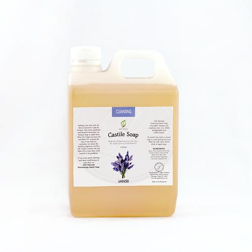 Cleansing Lavender Castile Soap 1L