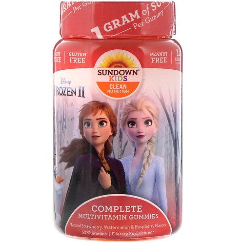 Frozen II Complete  Multivitamin 60 Gummies