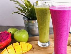 Two days fruity smoothies challenge