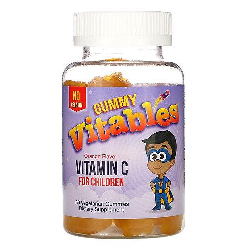 Gummy Vitables Vitamin C 60 Gummies