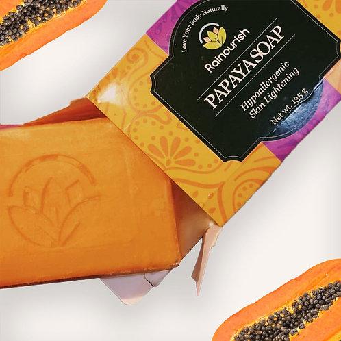Papaya Bar Soap 135g