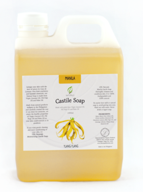 Manila Ylang-Ylang Castile Soap 1L