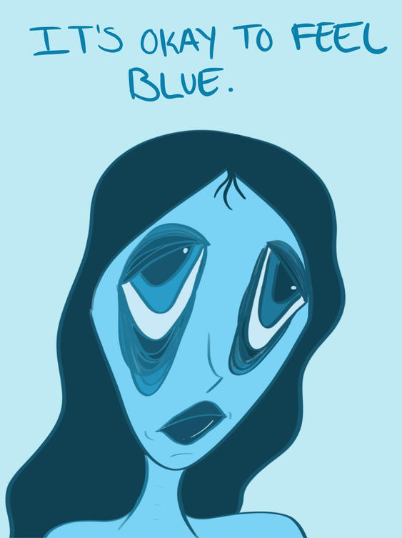 It's Okay to Feel Blue. 2021