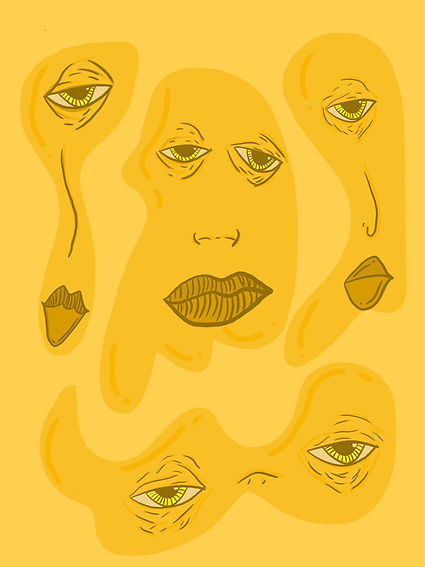 Yellow Blobs (digital 2020)