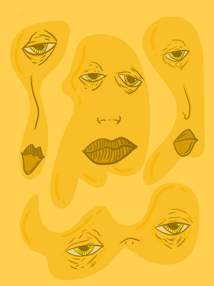 Yellow Blobs. 2021