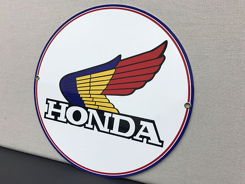 HONDA RETRO REPRODUCTION SIGN