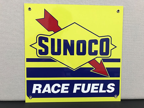 SUNOCO RACE FUELS REPRODUCTION SIGN