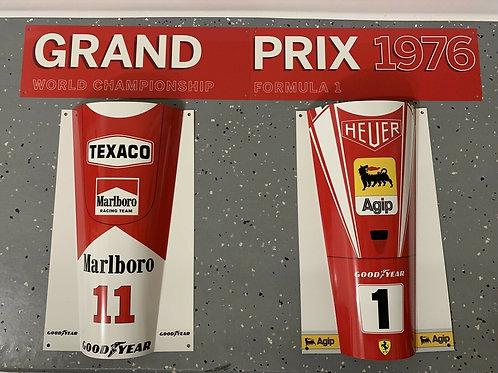 Niki Lauda James Hunt Ferrari McLaren Grand Prix