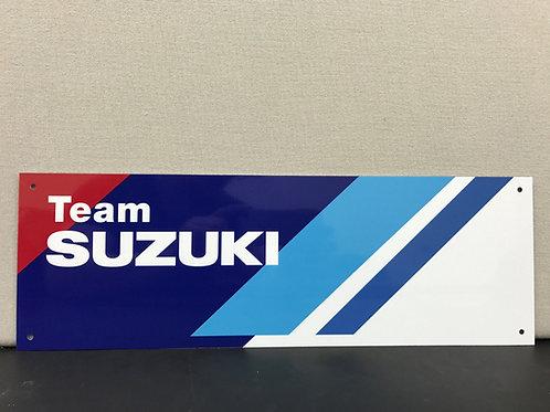 TEAM SUZUKI REPRODUCTION SIGN