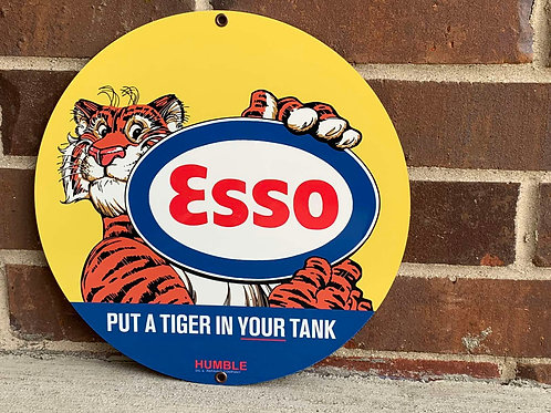 Esso Put A Tiger In Your Tank Sign