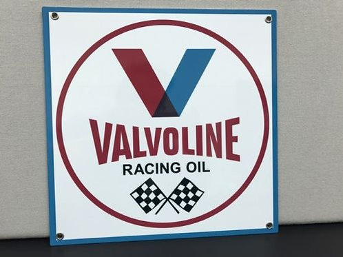 Valvoline Racing Oil Vintage Sign