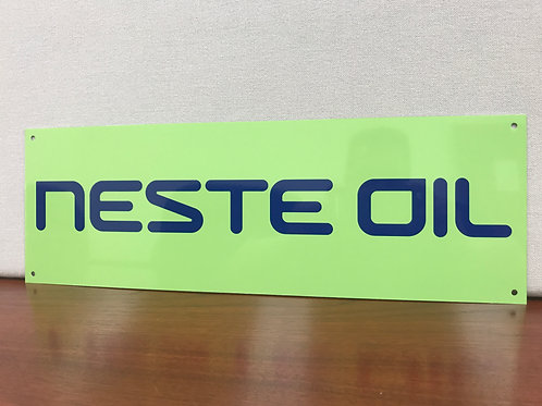 NESTE OIL RALLY FINLAND REPRODUCTION SIGN