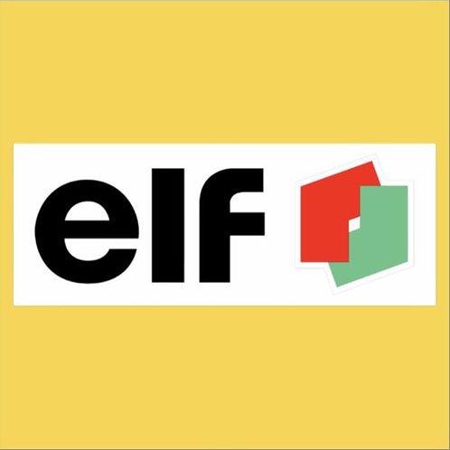 Elf Racing Sign
