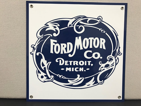 FORD MOTOR VINTAGE REPRODUCTION SIGN