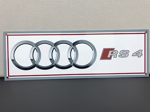 AUDI RS REPRODUCTION SIGN