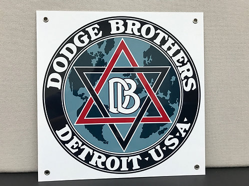DODGE BROTHERS REPRODUCTION SIGN