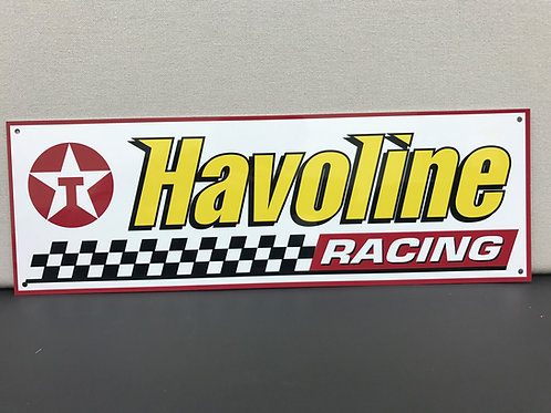 HAVOLINE TEXACO RACING REPRODUCTION SIGN
