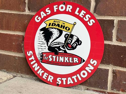 Stinker Stations Gas Vintage Style Sign