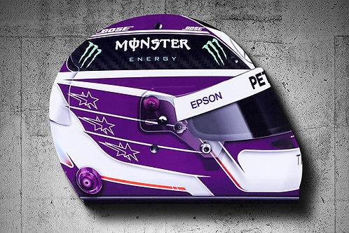 Lewis Hamilton 2020 F1 Helmet