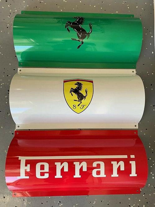 3 Piece Ferrari Sign