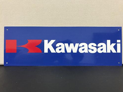 KAWASAKI MOTORCYCLE REPRODUCTION SIGN